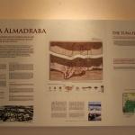 Cartel explicativo en la Torre de Guzmán