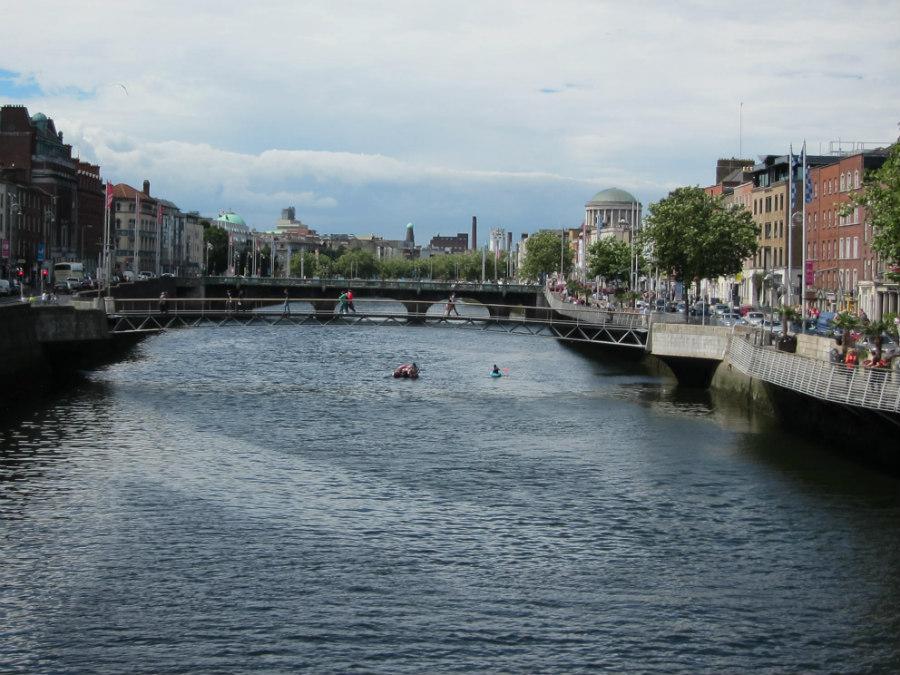 Puente del Milenio, en Dublín