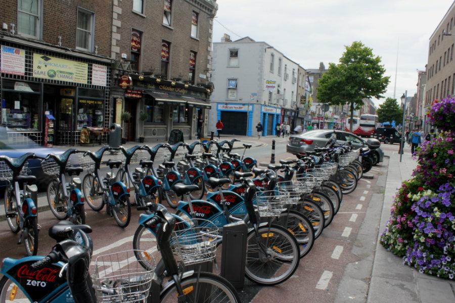 Bicis urbanas de alquiler en Dublín