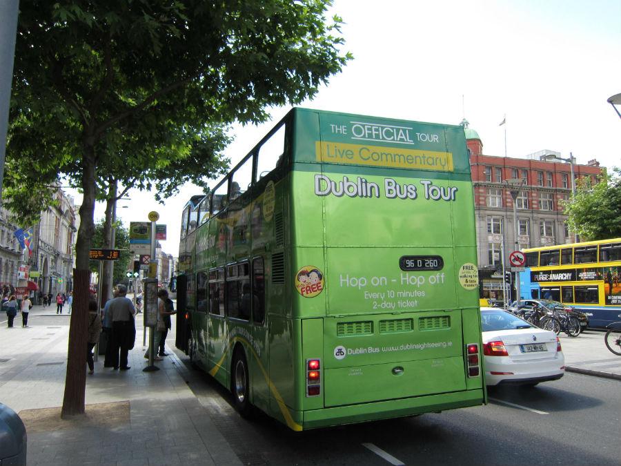 Autobús turístico de Dublin Sightseeing.