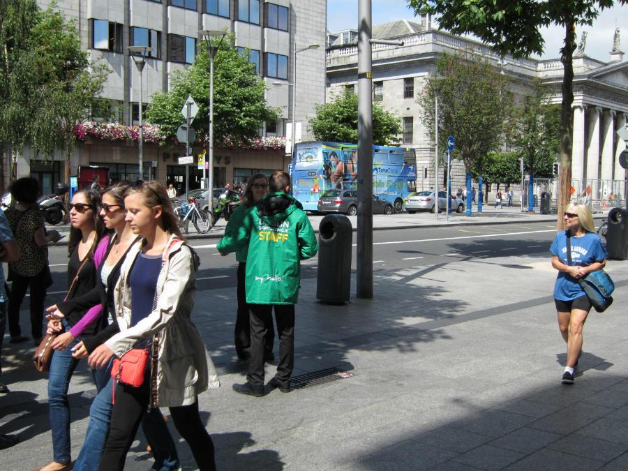 Los horarios y precios de los tours turísticos urbanos en Dublín se pueden consultar en la oficina de turismo.