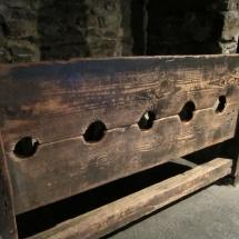 La picota de la Cripta de la Christ Church de Dublín es uno de los elementos que más llama la atención de los niños