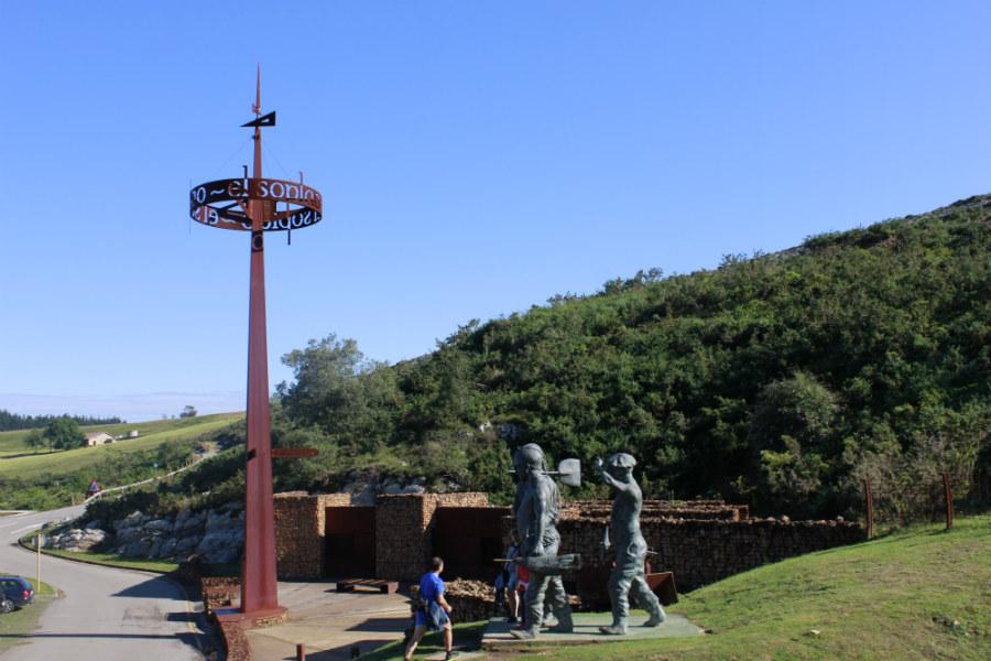Entorno de la Cueva de El Soplao, en Cantabria