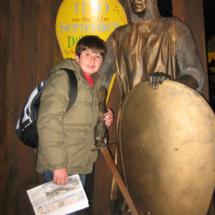 En Dublinia, los niños aprenden la historia de Dublín de manera teatralizada.