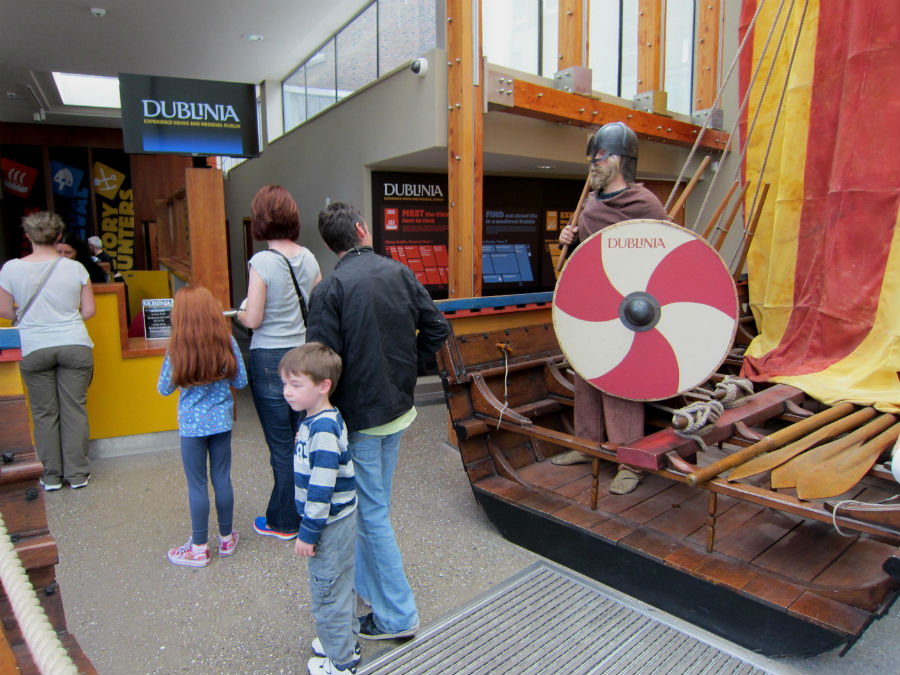 El origen vikingo de Dublín ocupa la primera planta de este museo.