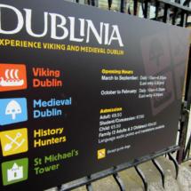 Dublinia es una excelente visita para los niños de vacaciones en Dublín.