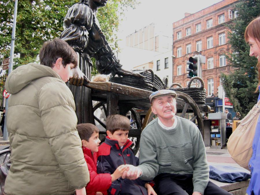 La canción de Molly Malone es considerada el himno de Dublín