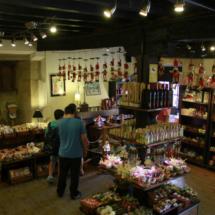 Tienda de dulces en Santillana del Mar