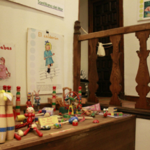 En este Museo del Barquillero hay una pequeña muestra de juguetes antiguos
