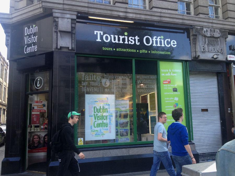 Tours tur sticos por dubl n for Oficina de turismo de irlanda