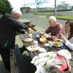 Dekes Diner, en Dublín: un restaurante en un contenedor