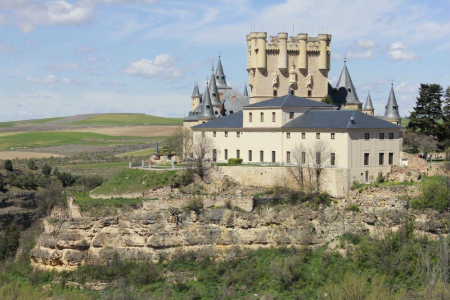 Ruta por Segovia, con niños