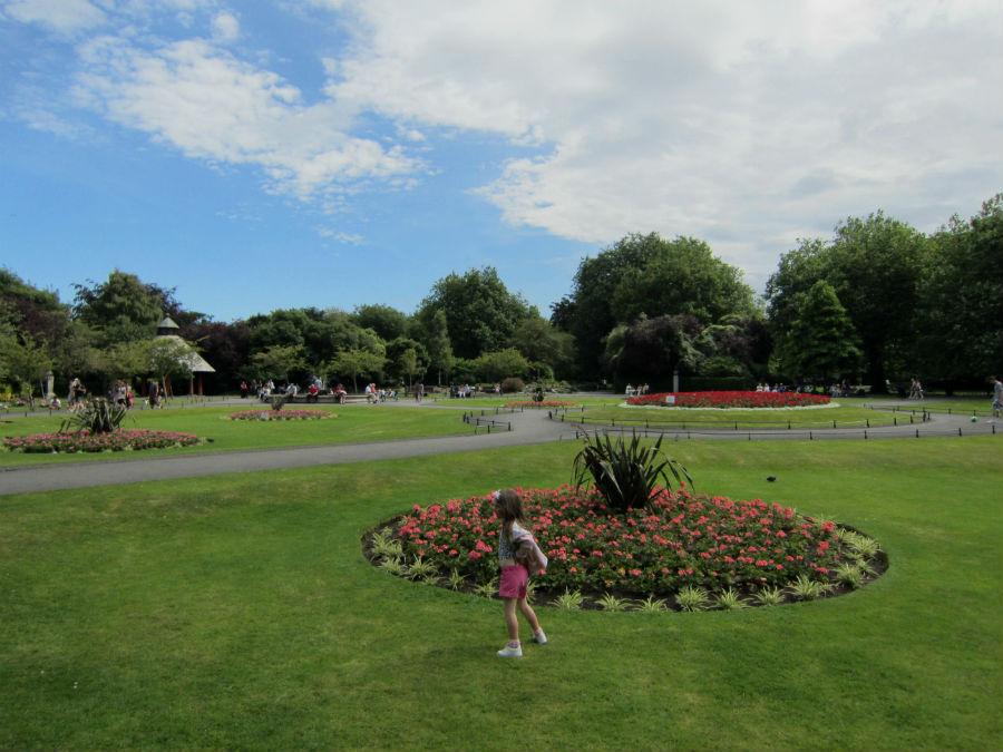 St. Stephen Green's es un gran parque en el centro de Dublín