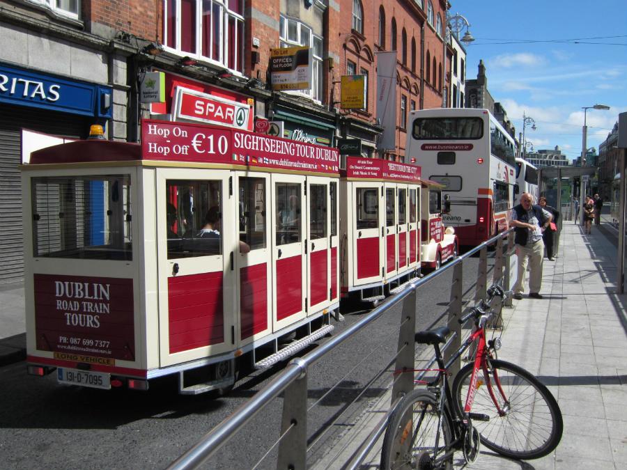 Oferta de tours turísticos por Dublín