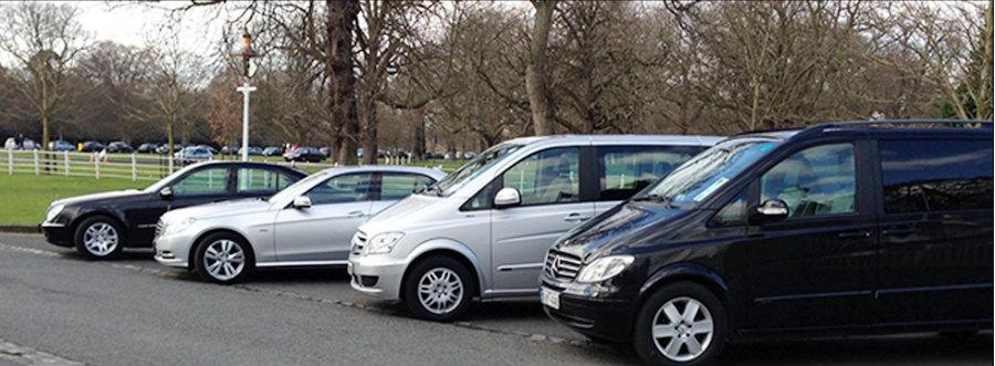 Flota de coches de lujo para tours turísticos en Irlanda