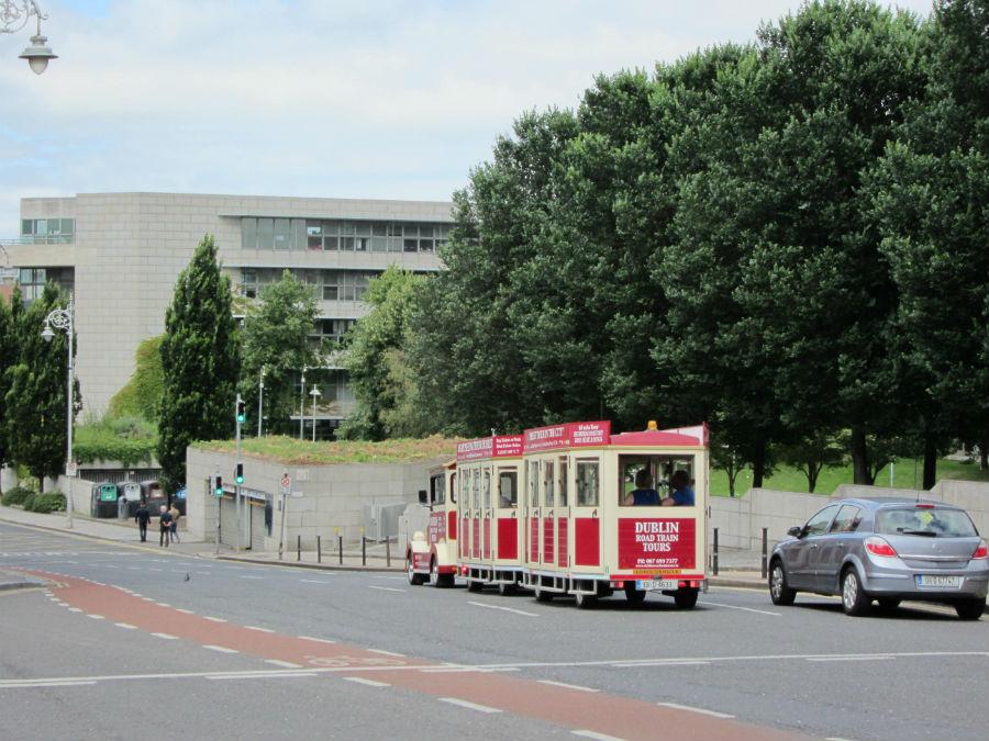 Tren turístico de Dublín