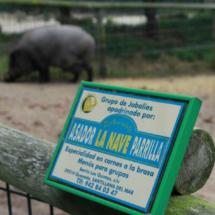 En el Zoo de Santillana hay un restaurante económico y una zona de picnic