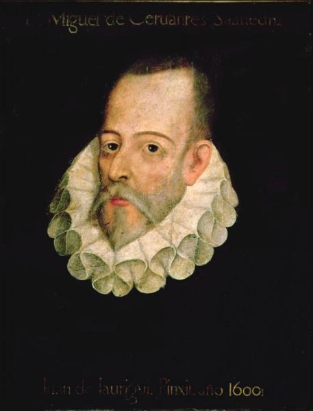 Retrato de Miguel de Cervantes, de Juan de Jáuregui, 1600