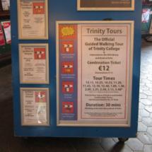 Hay diversas modalidades de visita al Trinity College