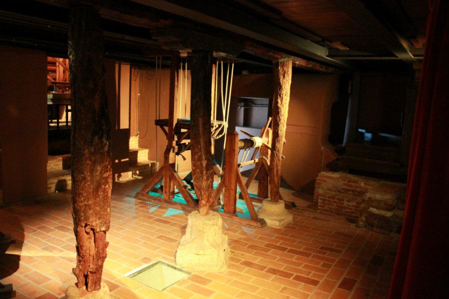 Interior del Corral de Comedias de Alcalá de Henares