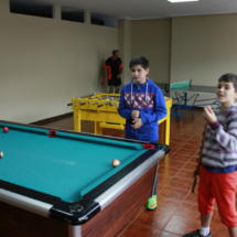 Sala de juegos de los apartamentos El Capriccio