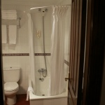 Cuarto de baño de un apartamento de El Capriccio