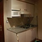 Cocina de un apartamento de El Capriccio