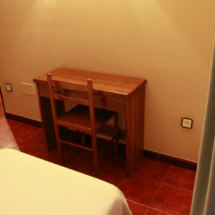 Dormitorio de un apartamento de El Capriccio