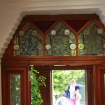 Esta casa es una de las primeras creaciones del arquitecto Gaudí