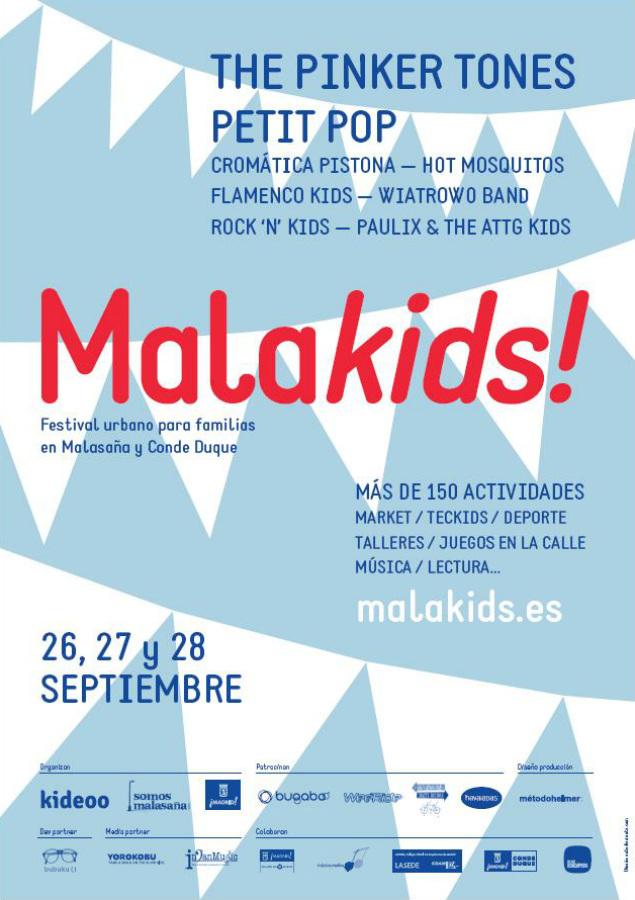 Cartel de Malakids! 2014