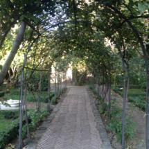 Jardín del Príncipe de Anglona, en Madrid