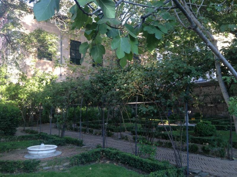 La tranquilidad reina en el Jardín del Príncipe de Anglona, en Madrid