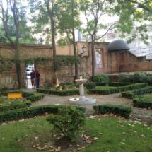 Un antiguo palacio alberga el Jardín del Príncipe de Anglona, en Madrid