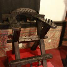 Instrumentos de tortura expuestos en el Museo de la Tortura de Santillana