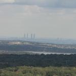 Vistas de Madrid desde el Bosque de la Herrería