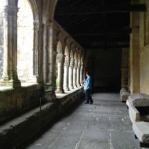 Capiteles del claustro de la Colegiata de Santillana del Mar