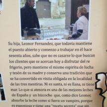 Detalle del cartel de la visita de Imanol Arias a Casa Quevedo