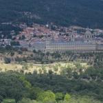 Vistas de El Escorial desde la Silla de Felipe II