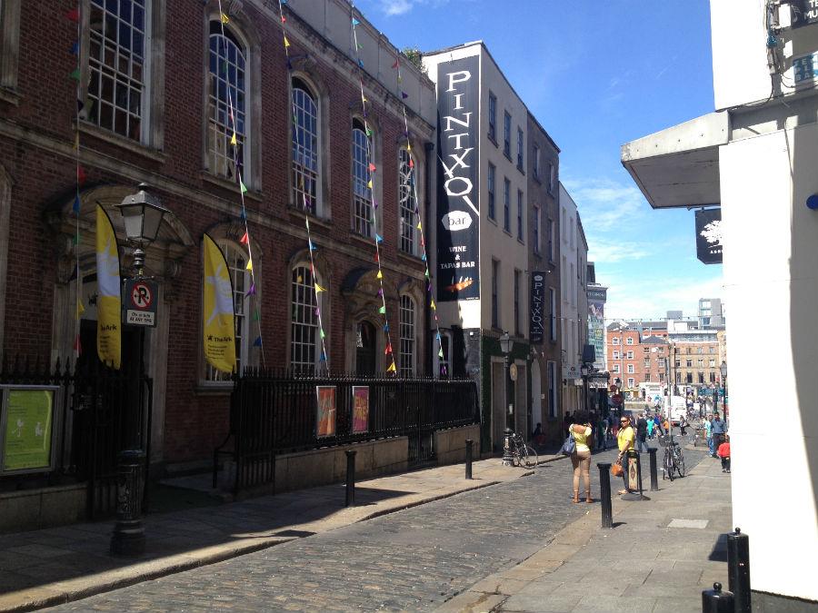 Edificios de la zona del Temple Bar, en Dublín
