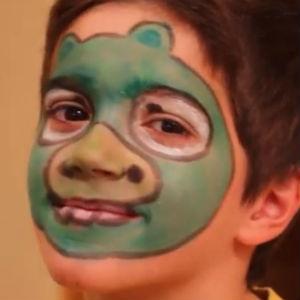 Maquillaje de Angry Birds