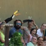 Exhibición de un tucán en el Zoo de Madrid
