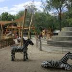 Parque infantil en el Zoo de Madrid