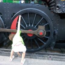Los niños pueden 'interactuar' con los trenes en este museo