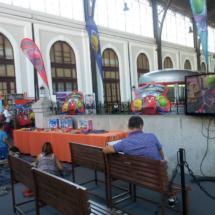 En el Museo del Ferrocarril de Madrid hay actividades y talleres para niños