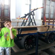 El Museo del Ferrocarril de Madrid alberga maquinaria antigua