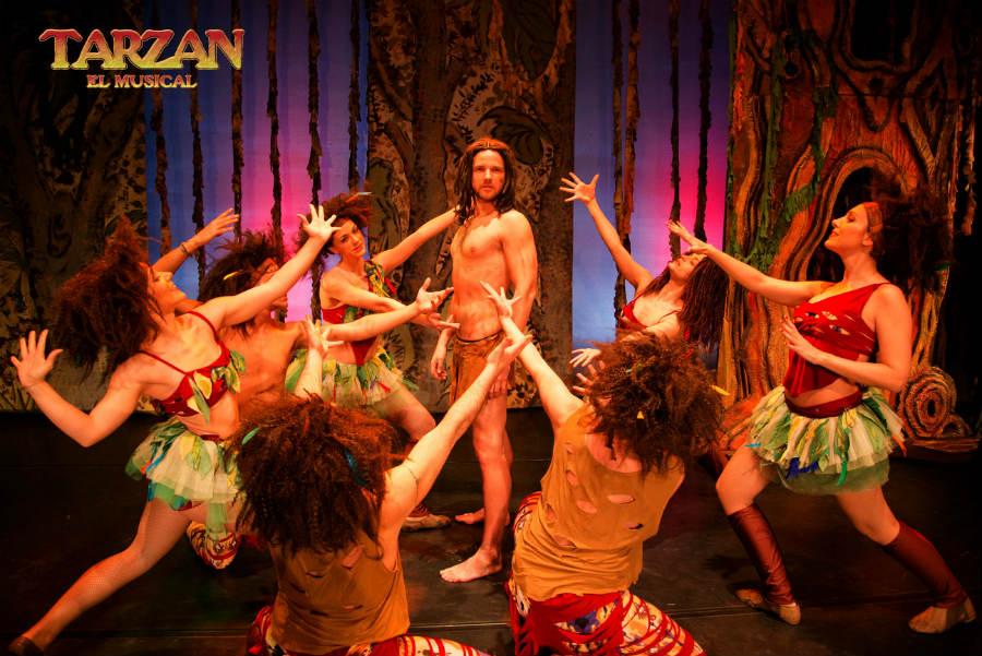 Escena de Tarzán, el musical
