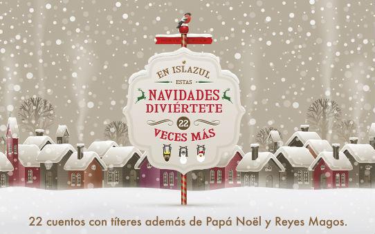 Cartel de actividades infantiles navideñas en Islazul