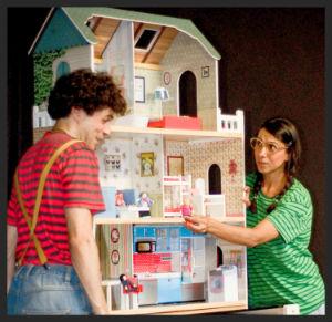 Escena de la obra teatral para niños Oh yes yes