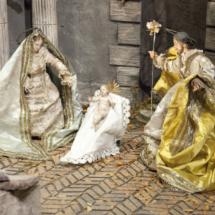 Detalle del Belén del Palacio Real. Foto de Patrimonio Nacional.