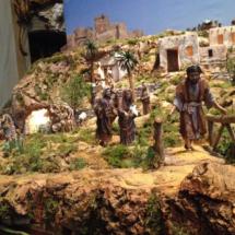 Detalle del Belén de San Miguel